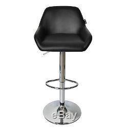 3 Piece Bar Table Stools Set Counter Height Adjustable Swivel Dining Chair Pub