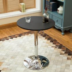 3 Piece Pub Bar Table Set Bar Stools Adjustable Dining Chairs Counter Height