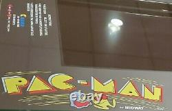 4 Player Custom 11 Pac Man Cocktail Arcade Cabinet Table 1200 Games 2 Stools