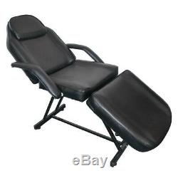 73 Adjustable Tattoo Massage Bed Facial Beauty Barber Chair with Hydraulic Stool