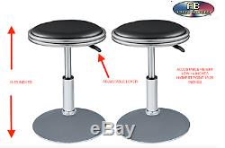 A pair of stools made for cocktail table arcade machine $149.00 on amazon