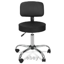 Adjustable Hydraulic Salon Stool Chair + Drawing Desk Drafting Table Glass Top