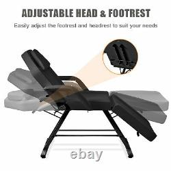 Adjustable Massage Table Barber Tattoo Spa Salon Facial Bed Beauty Chair Stool