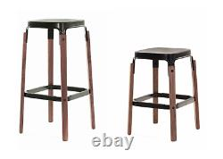 Authentic Herman Miller Magis Steelwood Stool Bar Height Design Within Reach