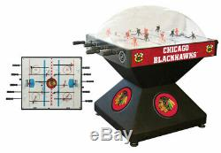 Chicago Blackhawks Dome Bubble Hockey Game Table