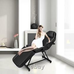 Massage Salon Bed Reclining Spa Tattoo Beauty Bed Table Chair Adjustable Stool
