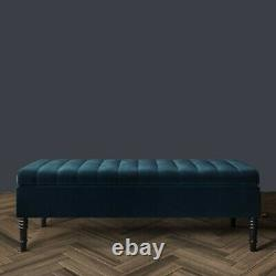 Ottoman Storage Box Upholstered Footstool, Stool Bench, Coffee Table, End Table