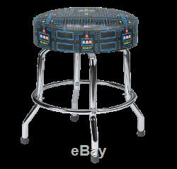 Pac-Man Stools 19 2 pack Perfect for Cocktail table games