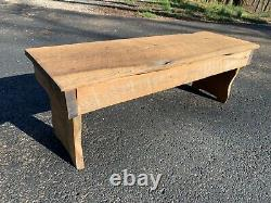 Primitive reclaimed barn wood bench table stand stool