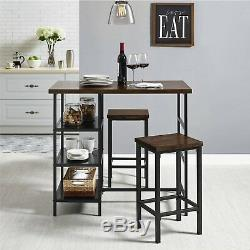 Pub Table Set Small Kitchen Dining Sets Bar Tables And Chairs Indoor Bistro Set