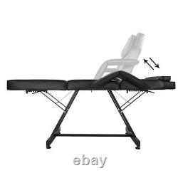 Salon Barber Chair Tattoo Spa Massage Table Folding Facial Bed Beauty withStool