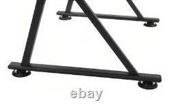 Studio Designs Drafting Table with Stool Black