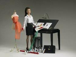 Tonner Dolls Tyler Wentworth Drafting Table Stool and Lamp 2005 NRFB