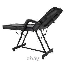 Massage Salon Bed Inclining Spa Tattoo Beauty Bed Table Chair Tabouret Réglable